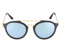 Sonnenbrille 'Fitzroy' blau / gold / schwarz