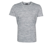 T-Shirt in Melange-Optik 'Sirio' grau