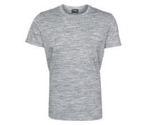 T-Shirt in Melange-Optik 'Sirio' graumeliert
