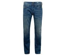 5-Pocket-Jeans 'Newbill' blue denim
