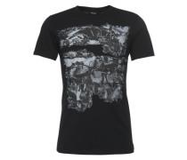 T-Shirt mit Print 'Joe' schwarz