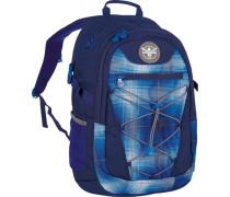 Sport 15 Herkules Rucksack 49 cm Laptopfach blau