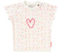 Kleid 'Fallston' creme / pink