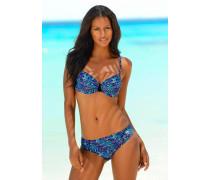 Bügel-Bikini blau
