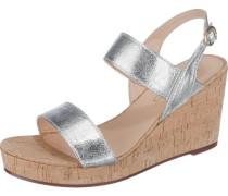 Sandaletten 'Gessie' silber