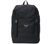 Trendiger Rucksack schwarz