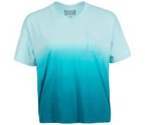 Sun Fade Dip Dye Swing T-Shirt Damen blau
