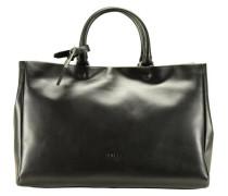 Avignon 3 Handtasche Leder 40 cm schwarz