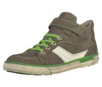 Sneaker greige / grün