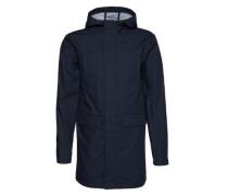 Parka mit Fishtail 'Hubert Jacket' blau