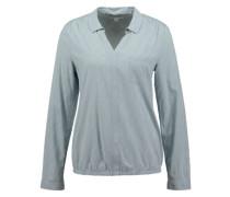 Bluse aus Viskosemischung blau / mischfarben