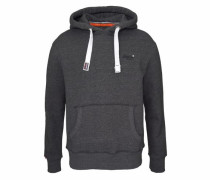 Kapuzensweatshirt 'orange Label Hood' anthrazit