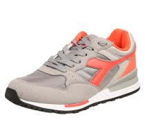 Sneaker 'Intrepid' grau / neonorange
