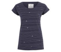 Printshirt 'Liv' navy