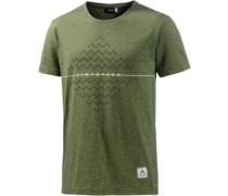 Zimtstern Zimtstern Nabilz Printshirt Herren grün