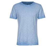 Meliertes T-Shirt 'Cibliss' blau