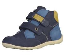Halbschuhe blau / navy / himmelblau / dunkelgelb