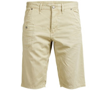 Loose-Fit-Shorts beige