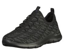 Sneaker silbergrau / schwarz