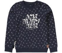 Sweatshirt für Mädchen dunkelblau