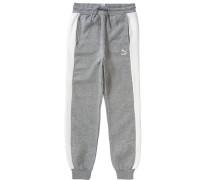 Jogginghose grau / naturweiß