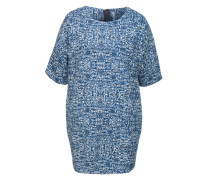 Gemustertes Egg Shape Dress 'Linsy' blau