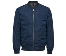 Bomber-Jacke blau