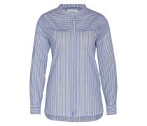 Bluse 'Evaline' blau / weiß