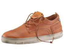 -Sneaker cognac