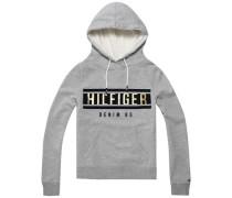 Sweatshirt ´thdw Basic HD Hknit L/S 19´ grau