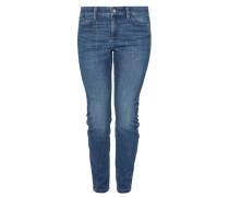 Curvy Extra Slim: Jeans mit Stitching