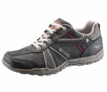 Shoes Schnürschuh braun / stone / karminrot / weiß