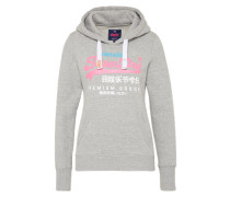 Sweatshirt 'premium Goods' graumeliert