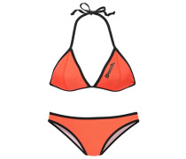 Triangel-Bikini orange