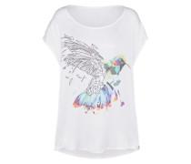Bedrucktes Shirt 'sara Hummingbird - satin visco T-Shirt'