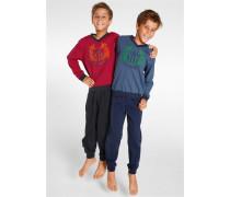 H.I.S JEANS Pyjamas, H.I.S (2 Stck.) mischfarben