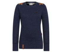 Pullover 'Hans Glanz' blau