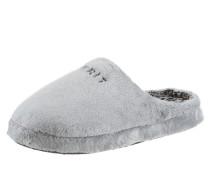 Pantoffel grau