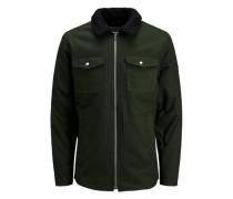 Jacke dunkelgrün