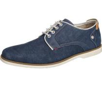 Freizeit Schuhe marine / braun / naturweiß