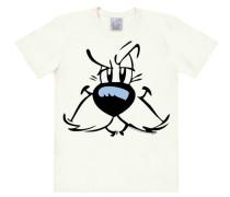 """T-Shirt """"Idefix"""" schwarz / weiß"""