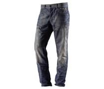 Loose Fit Jeans blau