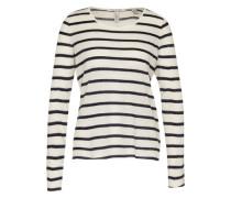 Streifen-Shirt schwarz / weiß