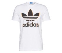 T-Shirt 'chromatic Trefo' weiß