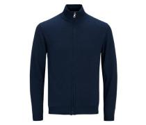 Strick-Cardigan Klassischer blau