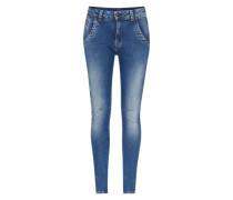 Antifit-Hose mit Ankle Cut 'Topsy' blau