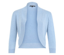 Bolero-Cardigan blau