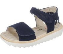 Kinder Sandalen WMS-Weite M3 blau / weiß