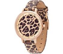 Uhr 'Safari Leopard'