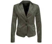 Jersey-Blazer Nizza Velvet grau / grün